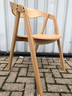 Brand New Cancelled Order Solid Oak Restaurant Chairs