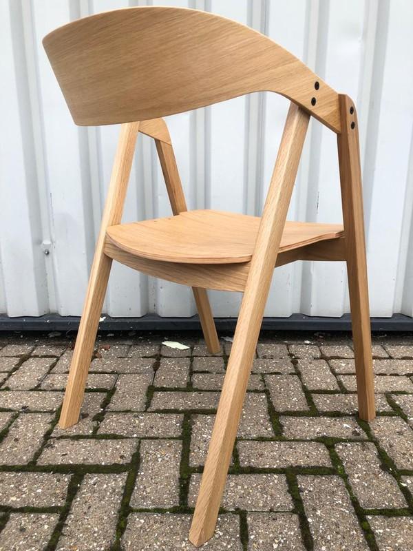 Solid Oak Restaurant Chairs