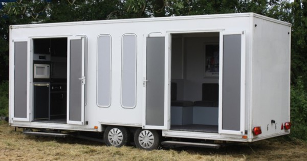 6m Exhibition trailer for sale