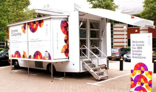 Road show exhibition truck for sale