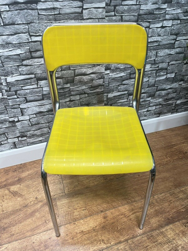 Secondhand Chrome Side Chairs