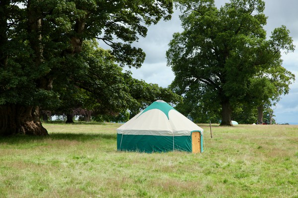 Secondhand yurt package