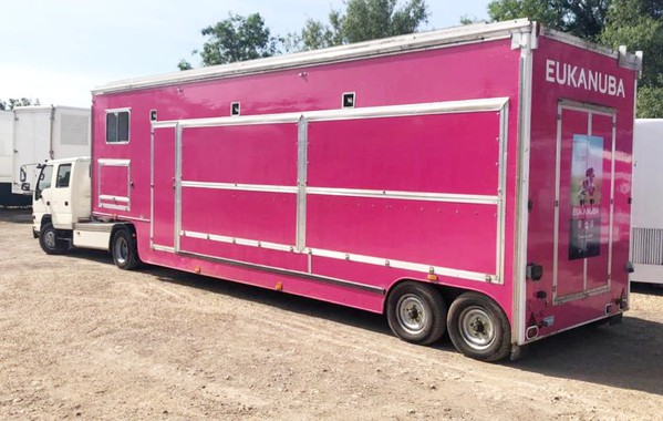 Exhibition Unit 9m Arctic trailer