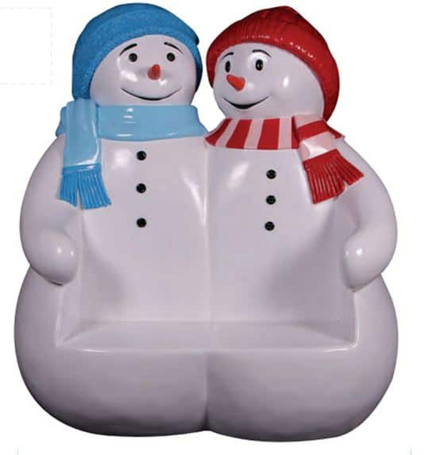 Snowman Seat