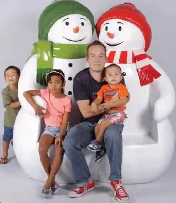 Snowman Seat Prop