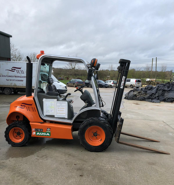 Used all terrain forklift for sale