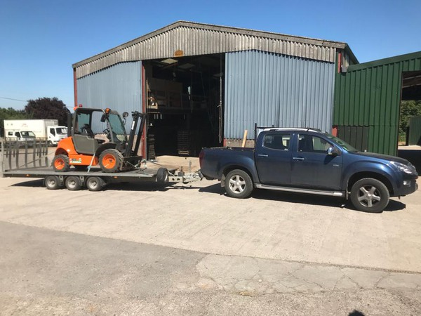 Secondhand 4 x 4 forklift for sale