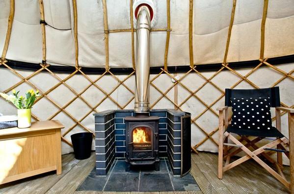 Wood stove for 18ft Yurt