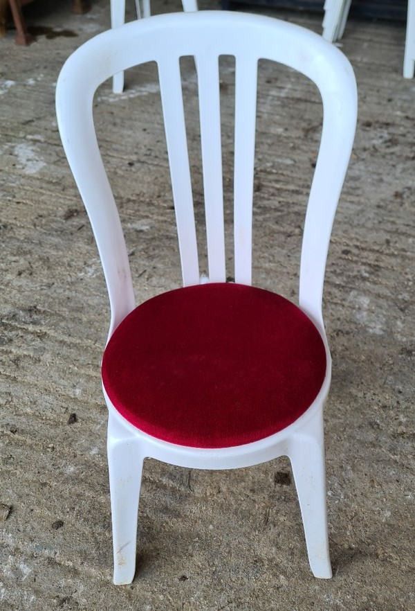 Bistro chair pads for sale