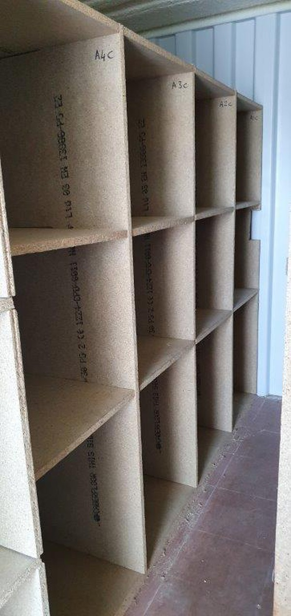 Marquee lining shelves for sale