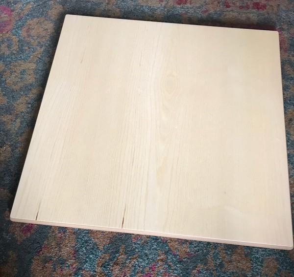 Used 700sq Ash Veneer Table Tops