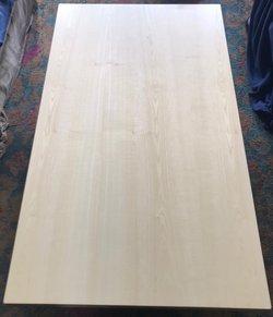 New 1200 x 700mm Ash veneer table tops