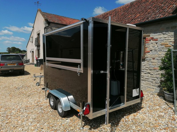 Twin axle catering trailer for sale