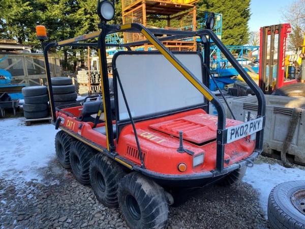 Argocat response vehicle