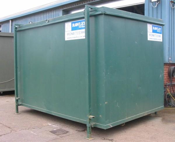 green storage unit