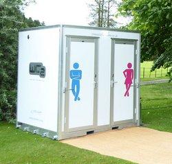 Luxury 1+1 Fresh Water Vacuum Pod Toilet Units