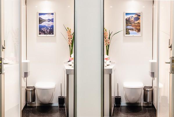 Ladies and Gents Luxury 1+1 Toilet Units