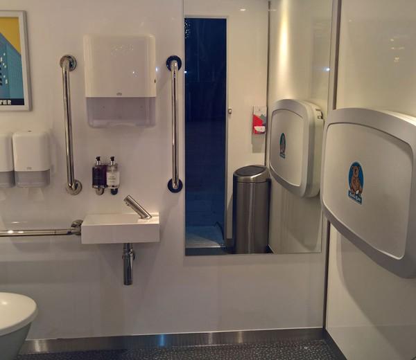 Accessible Toilet Unit