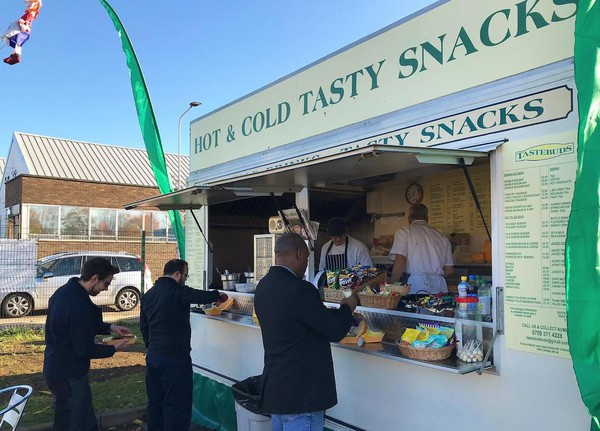 Super Continental Catering Trailer