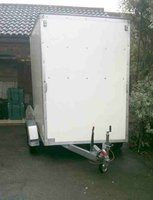 Tall box trailer for sale