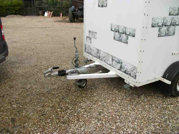 Braked box trailer for sale