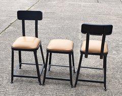 Industrial Style Low Stools For Sale