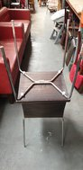 Dark Zebrano Stackable Chairs
