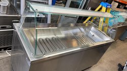 Inomak MIV718 Hot Cupboard With Wet Heat Covered Gastronorm Bain Marie