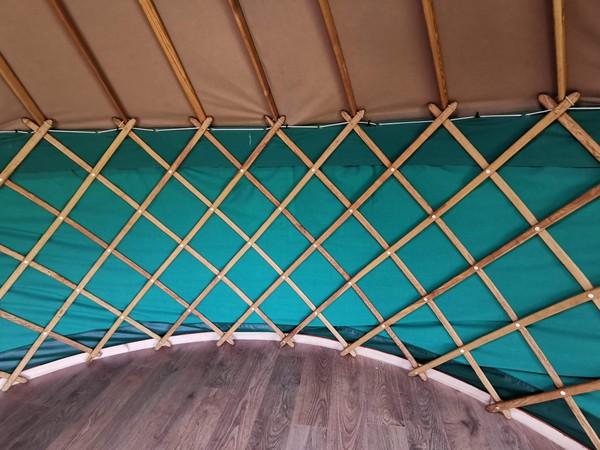 Selling 14ft Yurt Ger Refurbished with Wooden Base