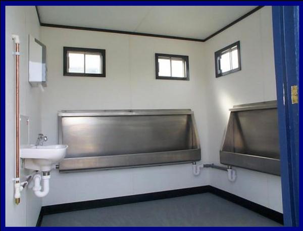 Gents urinals (jack leg toilet cabin)