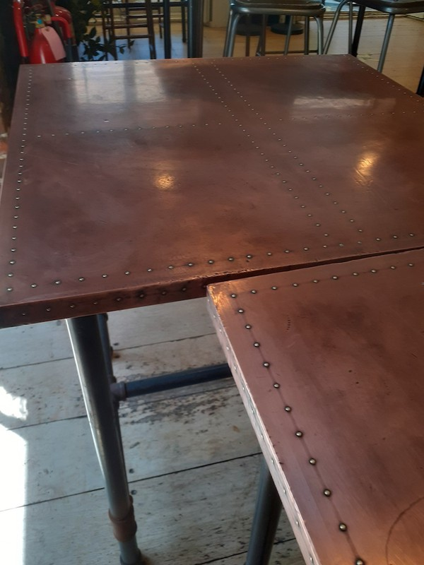 Industrial Copper and Zinc Tables