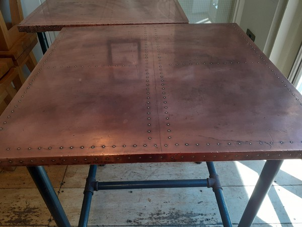 Second Hand Industrial Copper and Zinc Tables