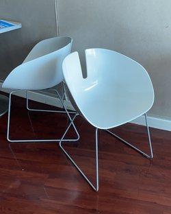 Fjord Moroso designer chairs by Patricia Urquiola