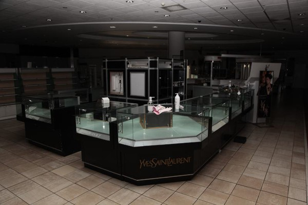 Shop glass display counter for sale