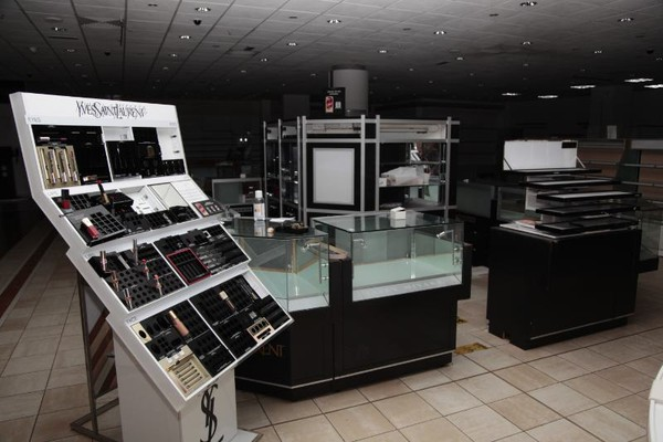 Yves Saint Laurent Makeup / Cosmetics display counter