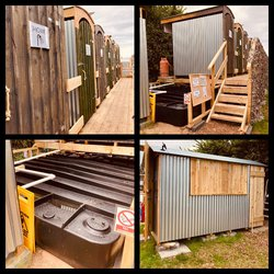 Glampsite Shower and toilet block