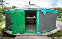 6.6 Meter 22ft Painted Yurt  for sale