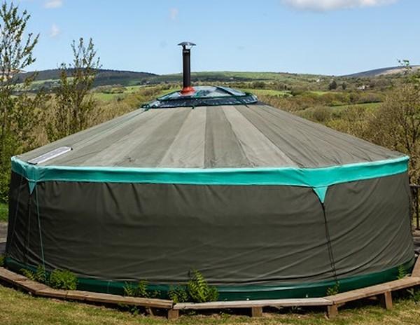6.6 Meter 22ft Painted Yurt