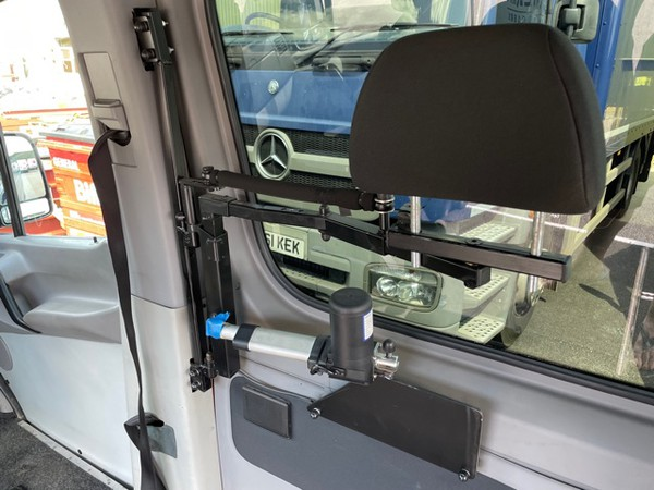 Electric operated head rest