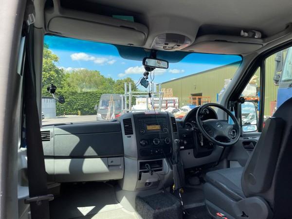 Wheel chair adapted van (driver or paninger)