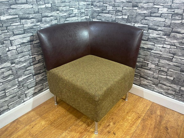 Brown Corner Chair