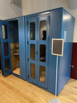 Blue StudioBrick Office Sound Proof Silent Space Isolation Recording Pod Booth