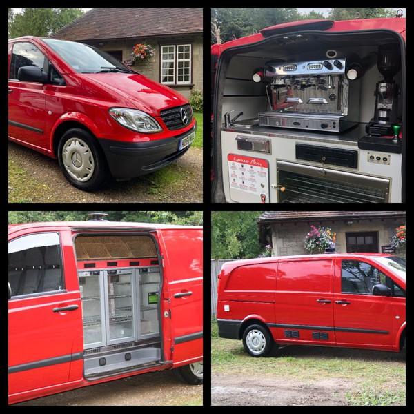 Coffee van for sale