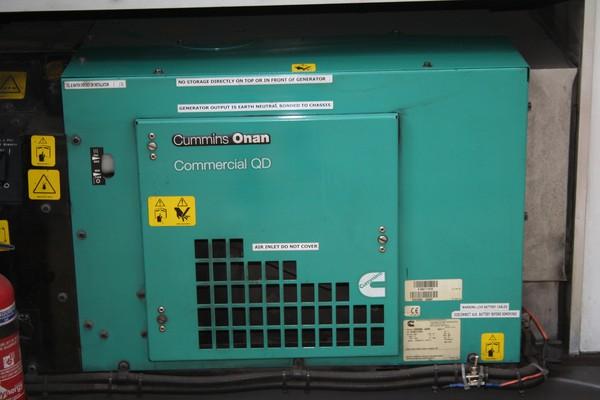 Onboard Cummins generator