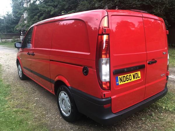 Red Coffee Van for sale