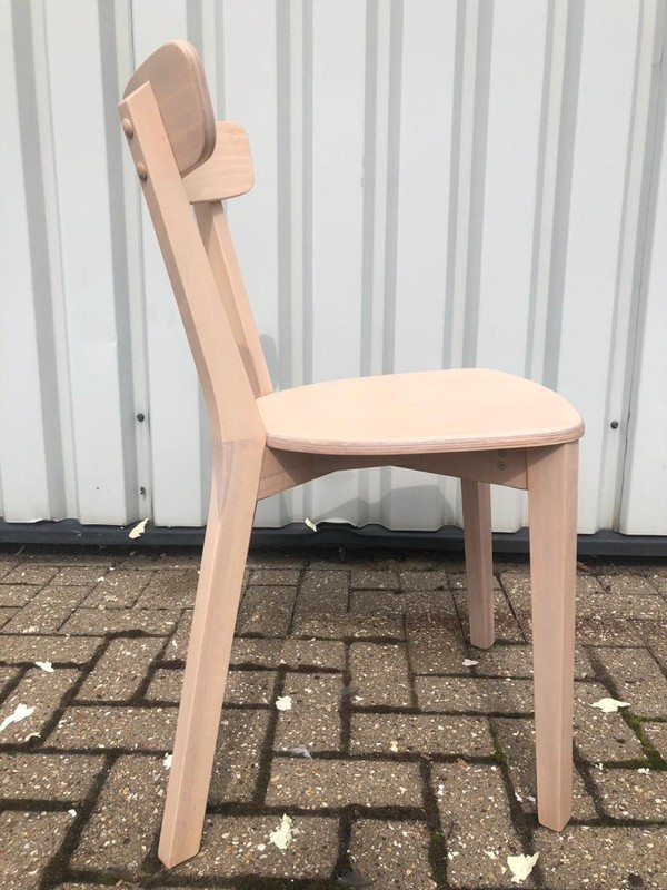 Wooden cafe / bistro chairs