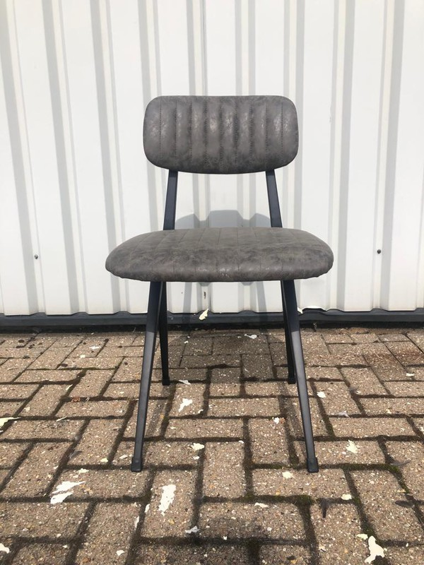 Dark grey chairs for cafe or restaurant