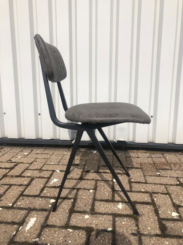 Grey cafe chairs