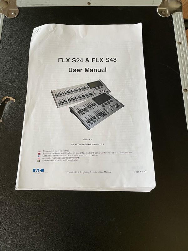 Zero 88 FLX-S24 DMX 512 Lighting Desk Console