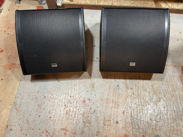 Used Audio M12 Active Monitors for sale